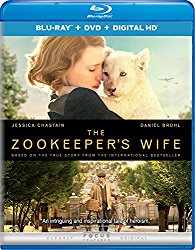 THE ZOOKEEPER'S WIFE Blu-ray Cover