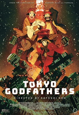 TOKYO GODFATHERS  Release Poster