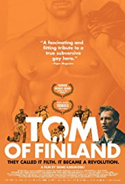TOM OF FINLAND Release Poster