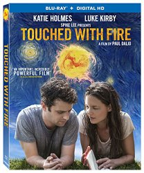TOUCHED WITH FIRE Blu-ray Cover