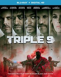 TRIPLE 9 Release Poster