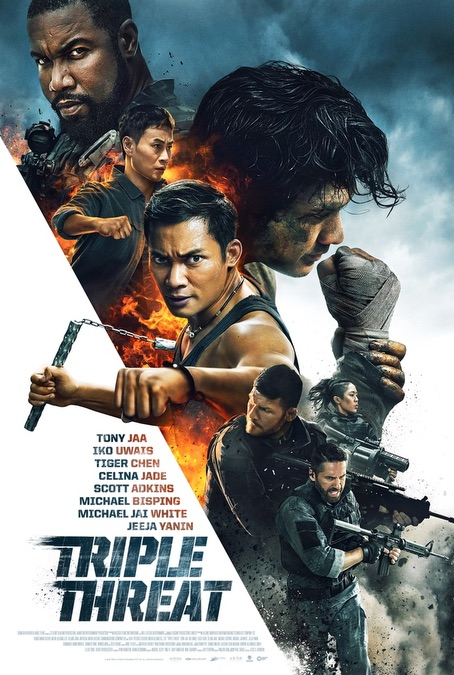 TRIPLE THREAT  Release Poster