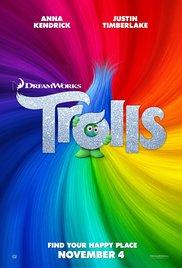TROLLS Release Poster