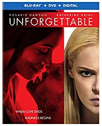 UNFORGETTABLE Blu-ray Cover