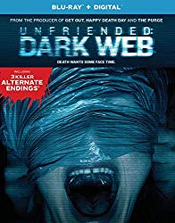 UNFRIENDED DARK WEB    Release Poster