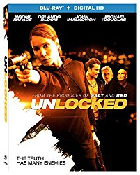 UNLOCKED Blu-ray Cover
