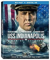 USS INDIANAPOLIS: MEN OF COURAGE Blu-ray Cover