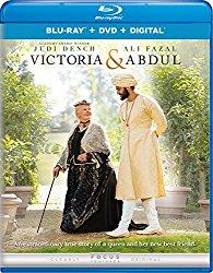 VICTORIA & ABDUL Blu-ray Cover