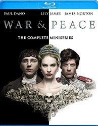 WAR & PEACE Blu-ray Cover