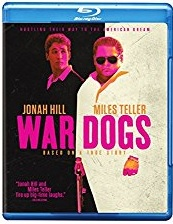 WAR DOGS Blu-ray Cover