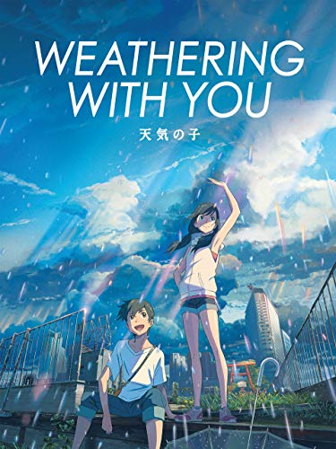 WEATHERING WITH YOU Release Poster