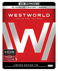 WESTWORLD SEASON ONE Blu-ray Cover