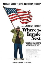WHERE TO INVADE NEXT Release Poster