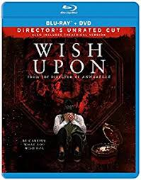 WISH UPON Blu-ray Cover