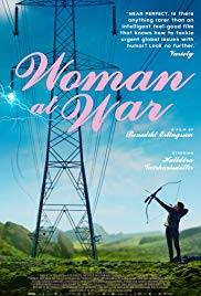 WOMAN AT WAR Release Poster