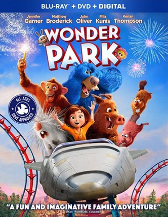 WONDER PARK Blu-ray Cover