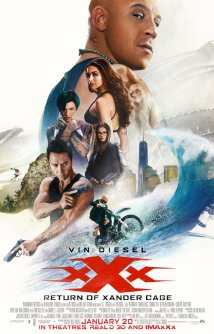 XXX RETURN OF XANDER CAGE Blu-ray Cover