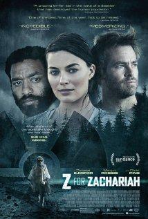 Z FOR ZACHARIAH  Release Poster