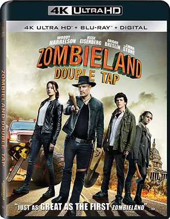 ZOMBIELAND: DOUBLE TAP Release Poster