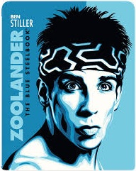 ZOOLANDER THE BLUE STEELBOOK Blu-ray Cover